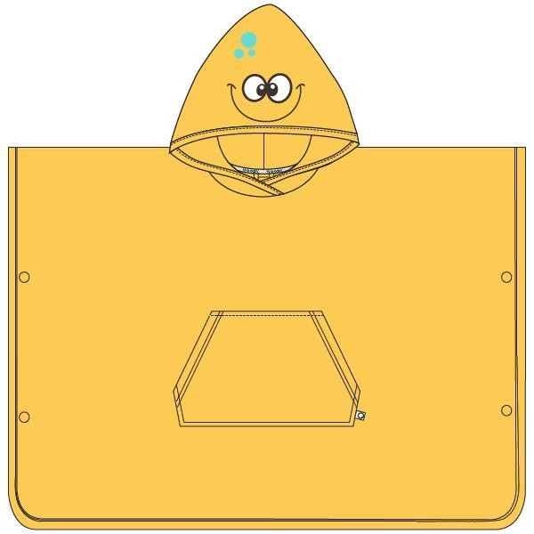 Badcape, geel