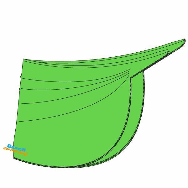 Pareo, green