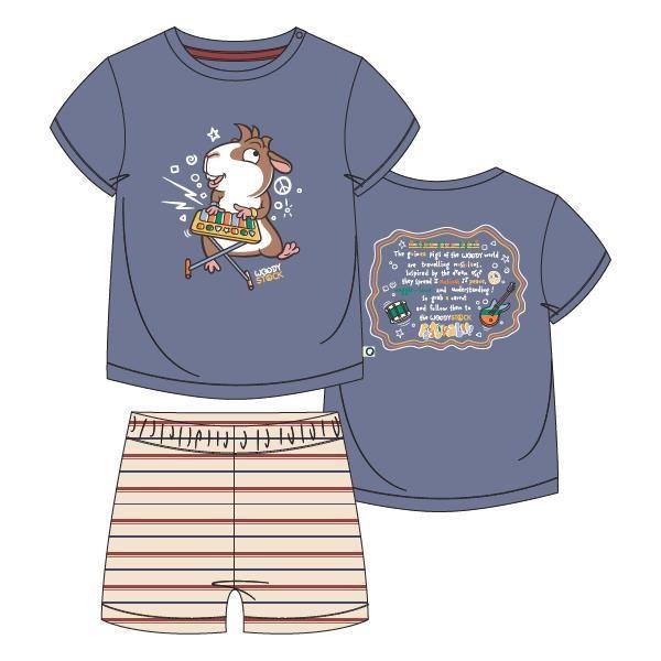 Unisex pyjama, blauw